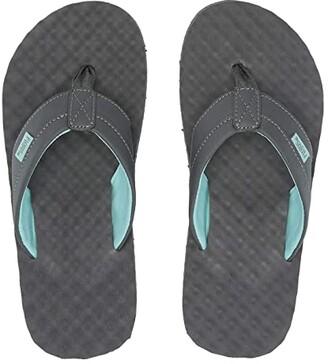 Flojos Blair 2.0 (Gray/Aqua) Women's Sandals