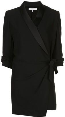 Frame Short Wrap Dress