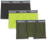 Superdry Men's Trunk Stripe Triple Pack Sports Underwear