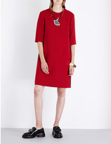 Marni Colourblock wool dress
