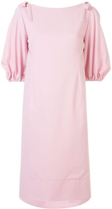 DELPOZO Bell Sleeved Dress