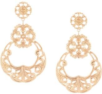 Jennifer Behr Shanna filigree drop earrings