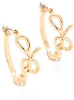 Rachel Roy Love Hoop Earring