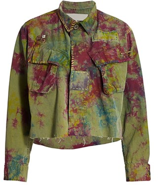 Riley Pink Berry Jungle Jacket
