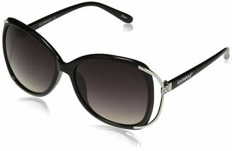Southpole Women's 1012SP Non-Polarized Iridium Round Sunglasses