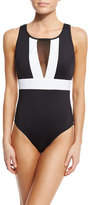 LaBlanca La Blanca Block My Way One-Piece Swimsuit, Plus Size
