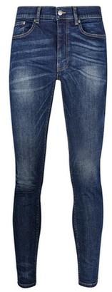 Dorothy Perkins Womens **Burton Mid Blue Ethan Super Skinny Fit Jeans, Blue
