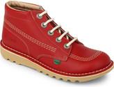 Kickers Kick hi leather shoes 9-11 years