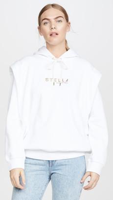 Stella McCartney Gold Logo Sweatshirt