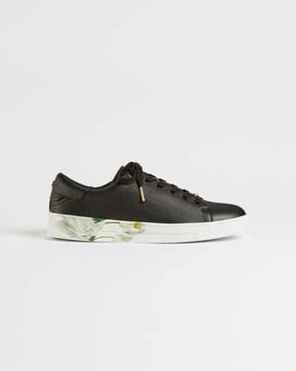 Ted Baker Elderflower Leather Cupsole Trainers