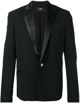 Versus studded trim blazer - men - Spandex/Elastane/Viscose/Wool - 48