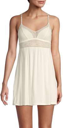 Eberjey Bride Lace-Trimmed Chemise