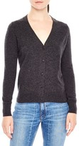 Sandro Women's Tie Back Wool & Cashmere Cardigan