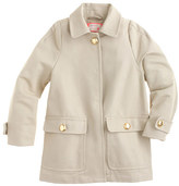J.Crew Girls' Trench in cotton twill