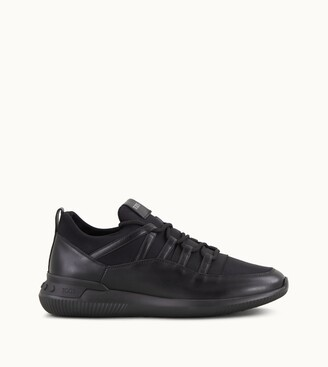 Tod's No_Code 01 in Leather and Scuba Fabric