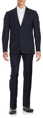 Calvin Klein Trim-Fit Two-Piece Wool Tuxedo