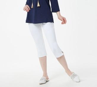 Belle By Kim Gravel Petite Flexibelle Capri Jeans