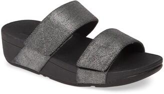 FitFlop Mina Shimmer Denim Back-Strap Sandal