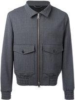 Ami Alexandre Mattiussi Zipped Jacket - men - Cotton - XS
