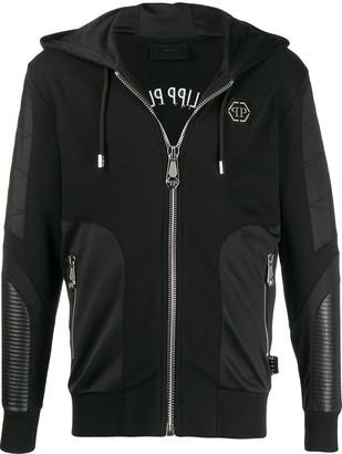 Philipp Plein Skull embellished hoodie