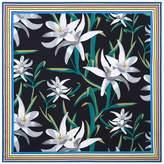 Diane von Furstenberg Harlow Floral Square Scarf