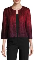 St. John Riviera Metallic Sequin Jacket