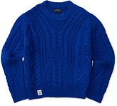 Ralph Lauren Cable Cotton-Blend Sweater