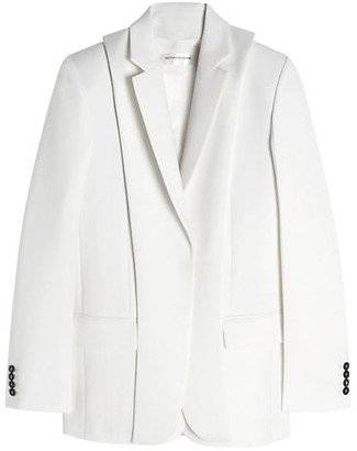 Victoria Beckham Double Layer Wool Jacket