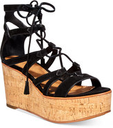 Frye Women's Heather Gladiator Wedge Sandals