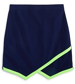 Aqua Girls' Neon Trim Skirt, Big Kid - 100% Exclusive