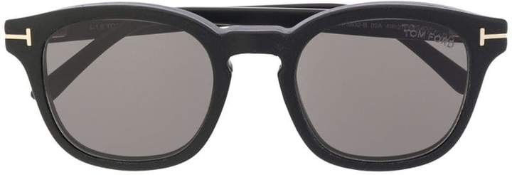 bbc6ef59ee8e Tom Ford Round Frame Sunglasses - ShopStyle