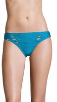 Herve Leger Cut-Out Pintuck bikini Bottom