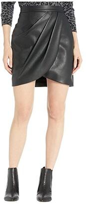 BCBGMAXAZRIA Miniskirt (Black) Women's Skirt