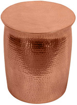 Zora Copper Drum Table