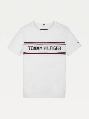 Tommy Hilfiger Intarsia Logo T-Shirt