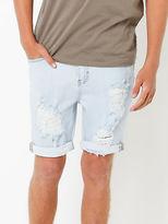 Lee New Mens Z Roadie Shorts In Railroad Blue Shorts Denim