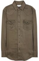 Saint Laurent Military-inspired Shirt