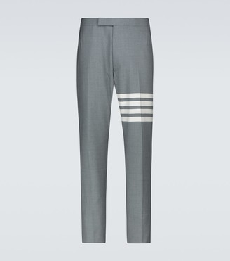 Thom Browne 4-Bar wool suiting pants