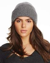 Inverni Two-Tone Striped Beanie