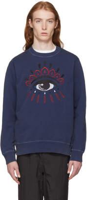 Kenzo Navy Bleached Eye Sweatshirt