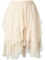 Chloé tiered ruffled skirt