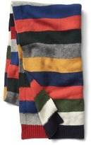Gap Crazy stripe merino wool blend scarf