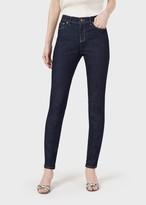 Giorgio Armani Slim-Fit Jeans In Stretch Cotton Denim