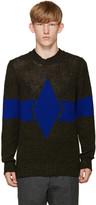 Diesel Grey & Blue K-Ingenium Sweater