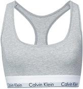Calvin Klein logo bra - women - Cotton/Spandex/Elastane/Modal - S
