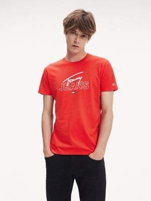 Tommy Hilfiger Organic Cotton Slim Fit T-Shirt