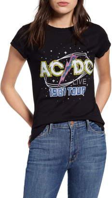 Recycled Karma AC/DC 1981 Tour Embellished Tee