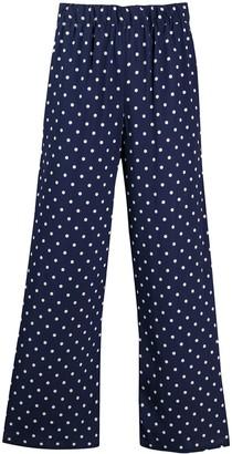 P.A.R.O.S.H. Polka-Dott Flared Trousers