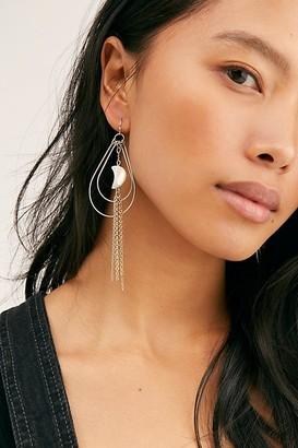 Free People Crescent Hoop Earrings