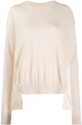 UMA WANG Draped Cashmere Jumper